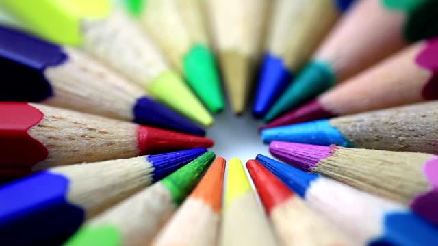 Color pencils video