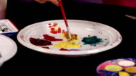 Color plate video