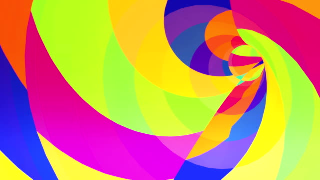 Color VJ tunnel background. Loop animation. video