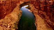 Colorado River. View from Navajo bridge. video