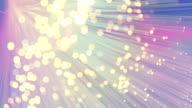Colored Fiber Optics video