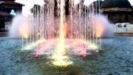 colored fountain video