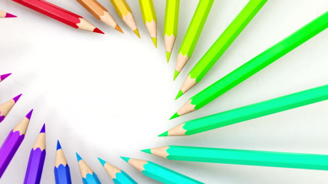 Colored pencils video