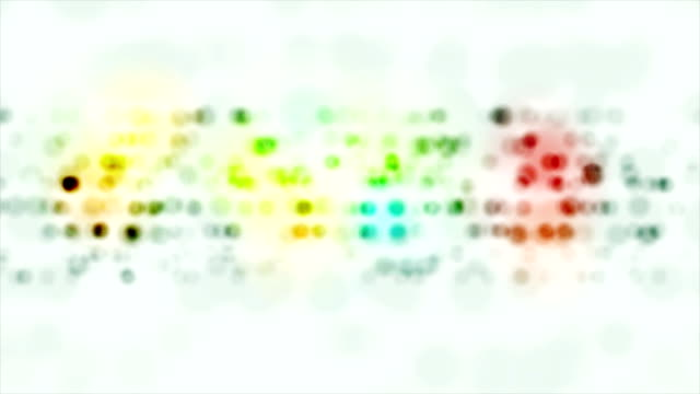 Colorful abstract circles video animation video