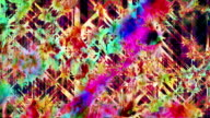 Colorful abstract video