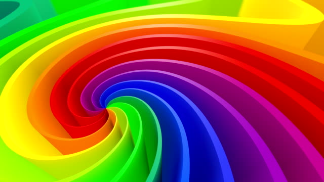 3D Colorful Background video