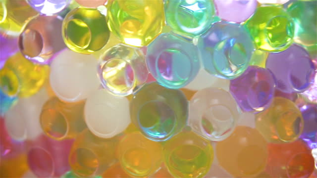 Colorful Balls Light Reflection Background loop video