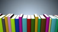Colorful Book Shelf - Loopable video