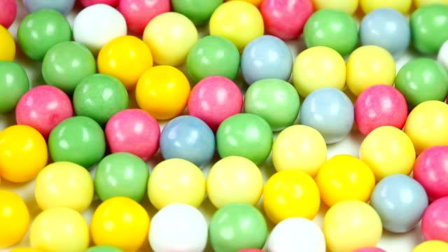 colorful bubble gum video