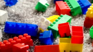 Colorful building set for children video