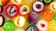 colorful candies video