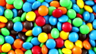 Colorful Chocolate Candy - 3 Videos in 1 (Full HD) video