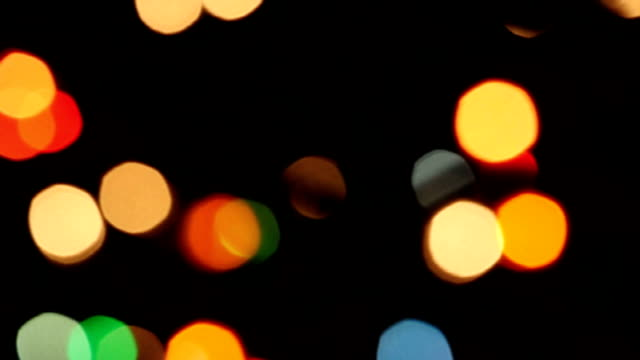 Colorful Christmas Lights video