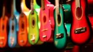 colorful guitars video