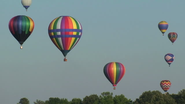 Colorful Hot Air Balloons video