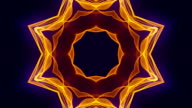 4K Colorful Kaleidoscopic Video Background. video