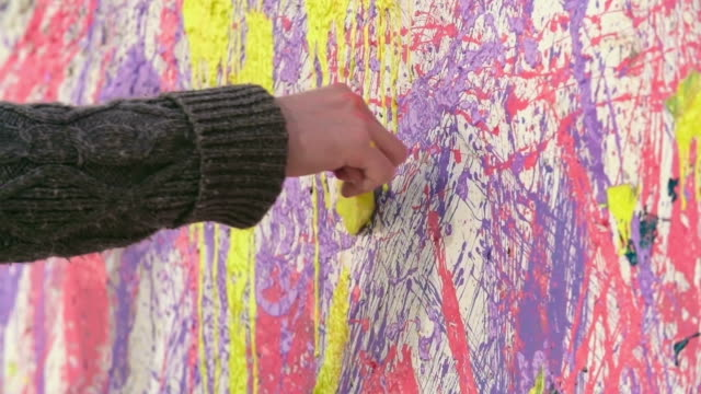Colorful Mess Painting video