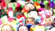 Colorful Mexican Dolls video