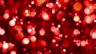 Colorful red abstract background video
