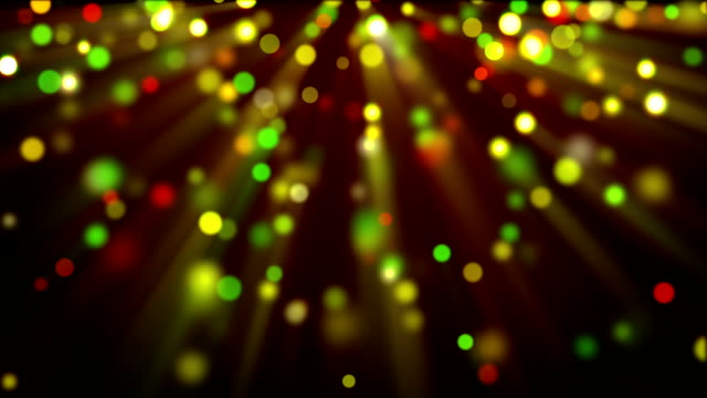 colorful shiny glitter circles loopable background video