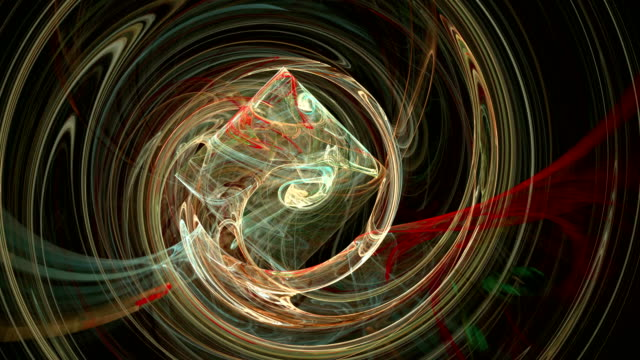 Colorful spiral pattern abstract motion background video