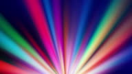 Colorful spotlights rotating video