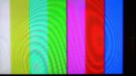 Colorful TV Error background video