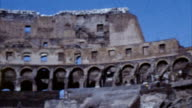 Colosseum, Rome, Italy (Archival 1960s) video