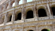Colosseum - the main tourist attractions of Rome, Italy. Ancient Rome Ruins of Roman Civilization. video