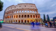 Colosseum time lapse day and night video