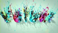 Colour ink video