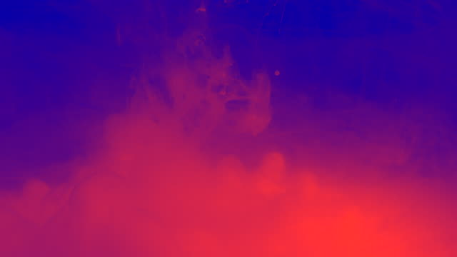Colourful Ink Texture Background With Vivid Neon Colours video