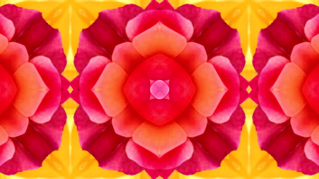 Colourful Kaleidoscope video