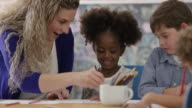 Colouring with the Teacher video