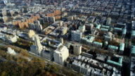 HD AERIAL: Columbia University and West Manhattan video
