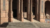 Columns And Stairs Of Palace Or Library video