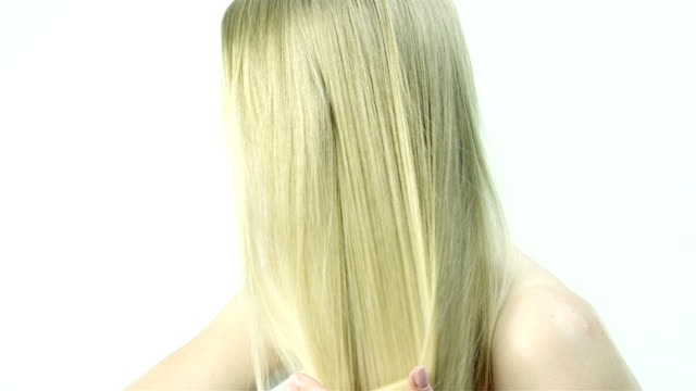 combing hair video