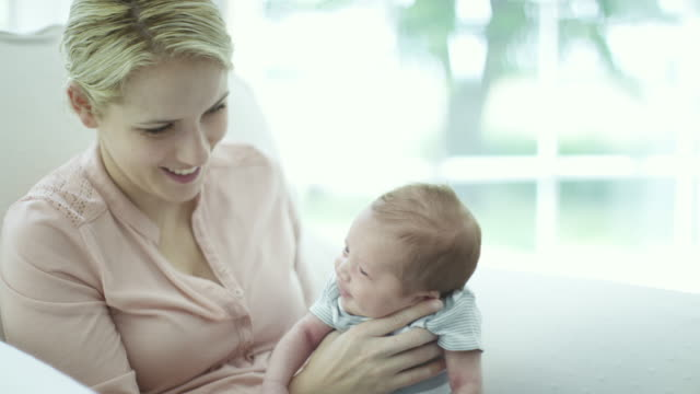 Comforting Her Baby Boy video