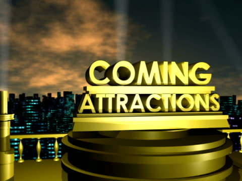Coming Attractions NTSC video