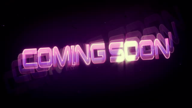 Coming Soon (Retro Drive-In Marquee) video