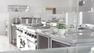 Commercial kitchen video