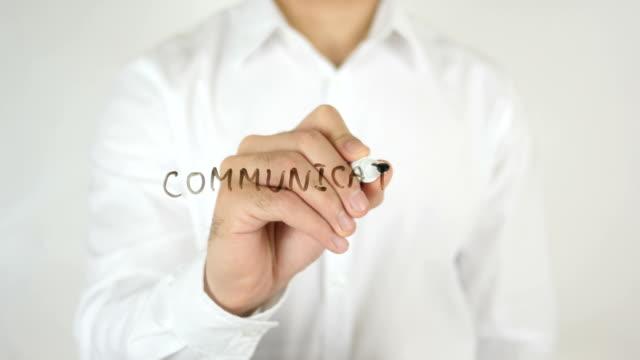 Communication, Written on Glass video