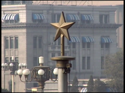 Communism: Chinese Star Atop Building video