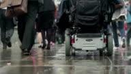 Commuter wheelchair video