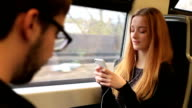 Commuting, listening to music. video