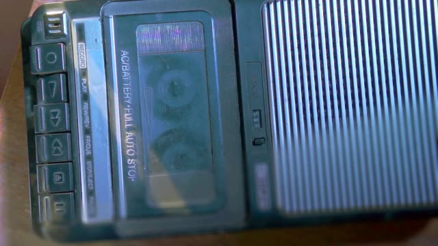 compact cassette very vintage tape recorder [006] video