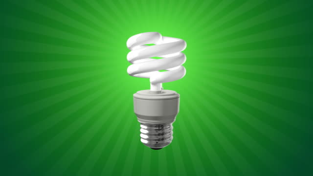 Compact Fluorescent Light Bulb video