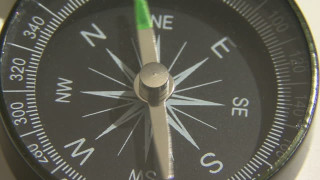 Compass display close up video