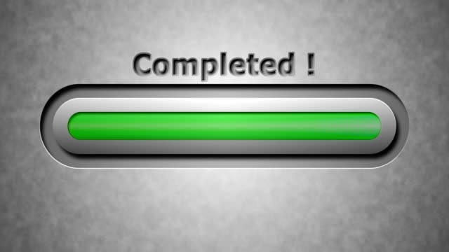 Completed ! video