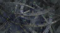 (Loop) Complex Highway Traffic video